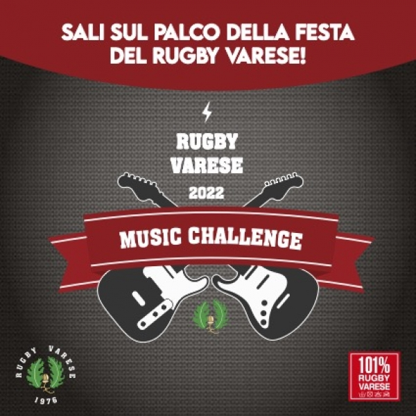 Rugby Varese Music Challenge 2020