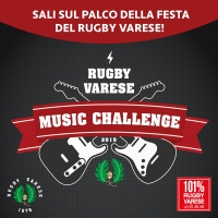 Rugby Varese Music Challenge 2019